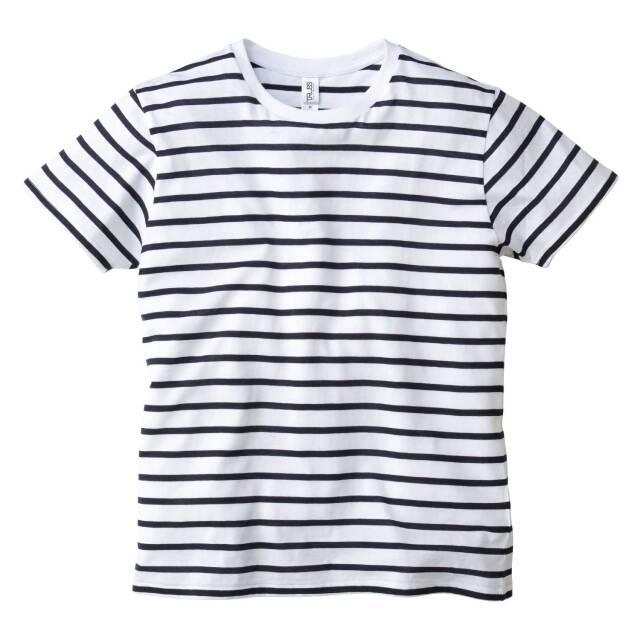 【TRUSS】(4.3oz) ナローボーダー Tシャツ  [SNB-141]