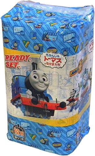 【送料別】 プリント トイレットペーパー 2枚重ね 12Rパック 機関車トーマス