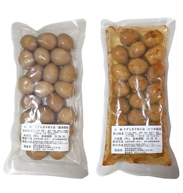 うずらの卵 燻製 特別増量パッケージ