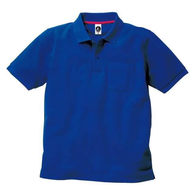 【TRUSS】ベーシックスタイル ポロシャツ(ポケット付)[VSP-268]