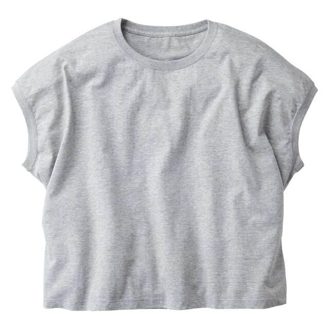 【TRUSS】スリーブレス ワイド Tシャツ [WNS-807]