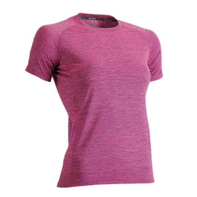 【Wundou】 ウィメンズフィットネスTシャツ #P720