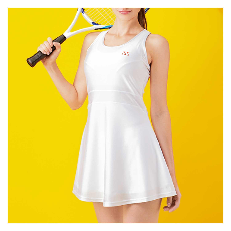 【Wundou】 ベーシックテニスワンピース #P1730