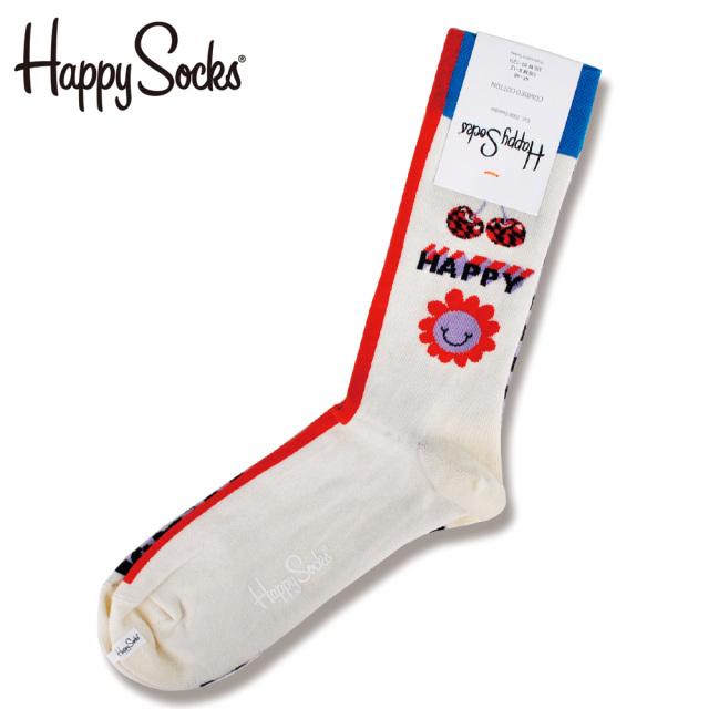 Happy Socks(ハッピーソックス)/Half Allover Dots Sock