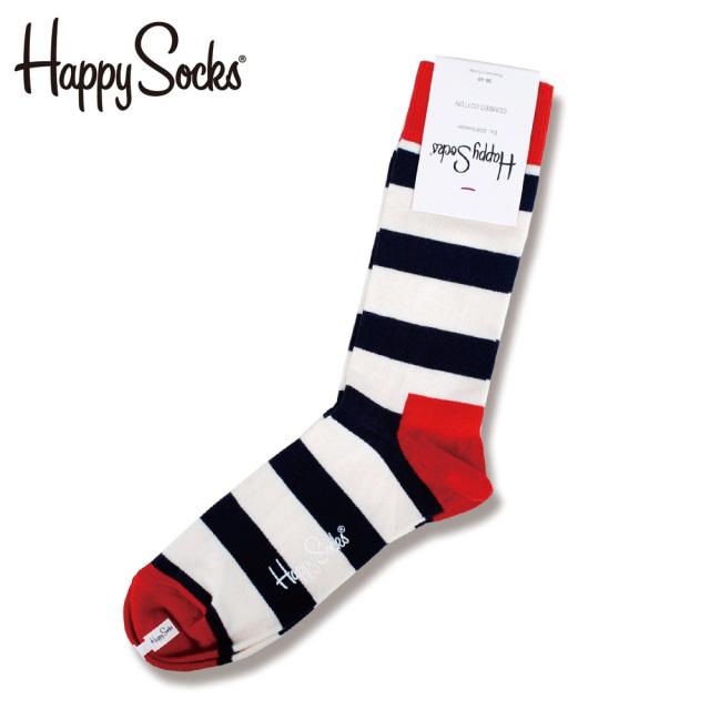 Happy Socks(ハッピーソックス)/Stripe Sock(ストライプソックス)