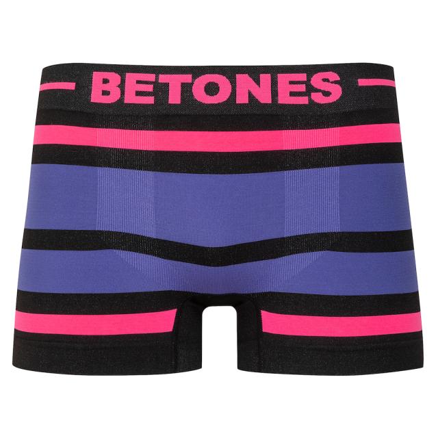 BETONES(ビトーンズ)/BLACK AKER(PINK×PURPLE)