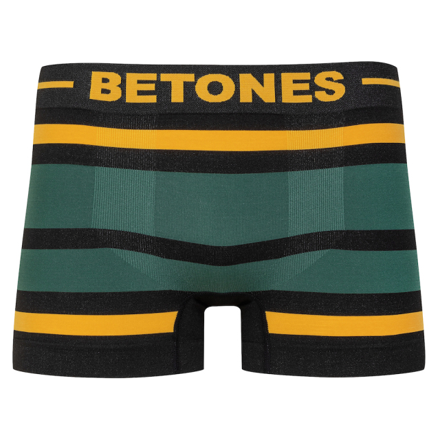 BETONES(ビトーンズ)/BLACK AKER(YELLOW×GREEN)