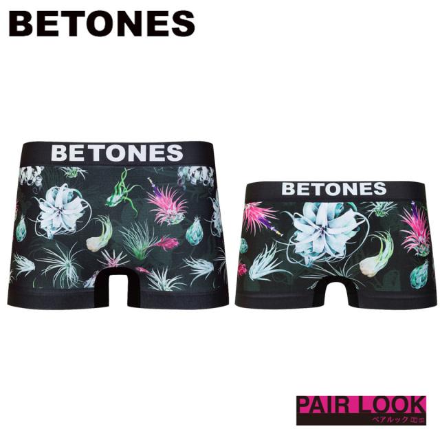 BETONES(ビトーンズ)/ペア商品 BOTANICAL(BLACK)
