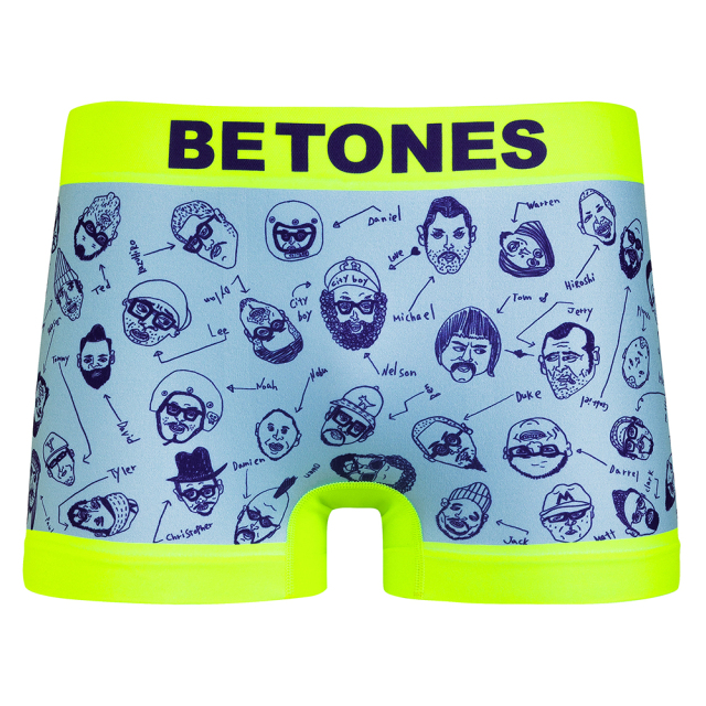 BETONES(ビトーンズ)/FRIEND SHIP(YELLOW)