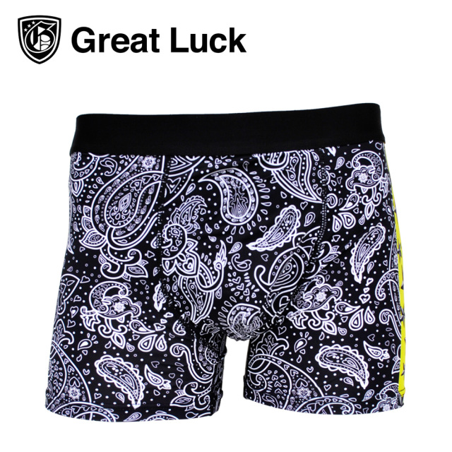 Great Luck(Designed in Japan)/HM ペイズリー2(ホワイト)