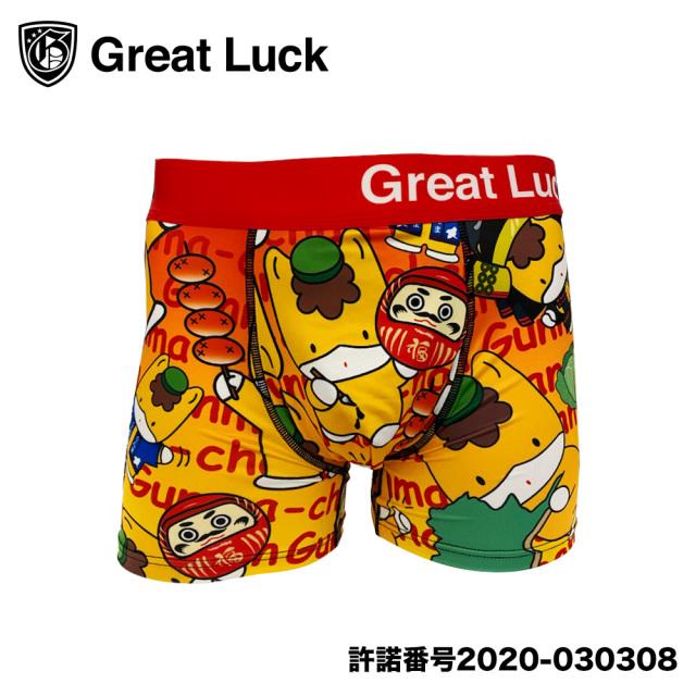 Great Luck(Designed in Japan)/グレイトラック ぐんまちゃん(カラフルレッド)