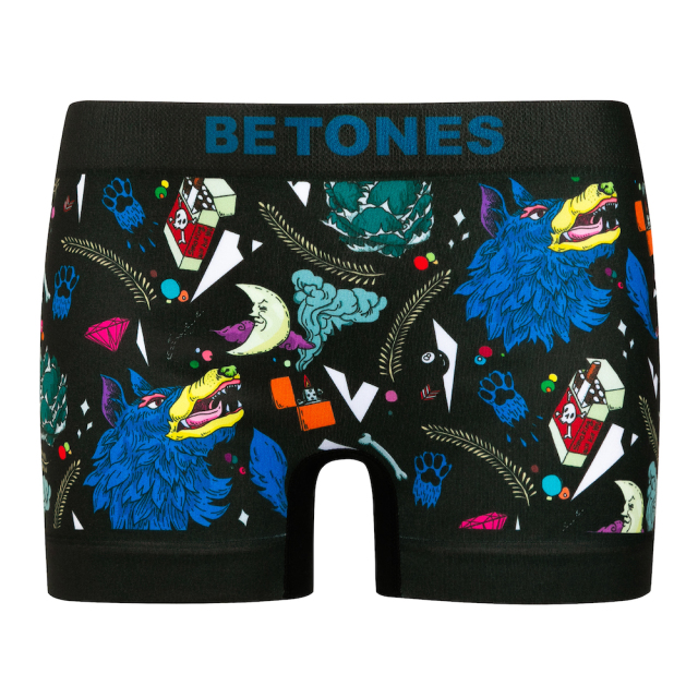 BETONES KIDS(ビトーンズ キッズ)/HOWLING(BLACK)