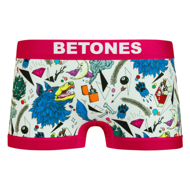 BETONES(ビトーンズ)/HOWLING(PINK)-Lady's