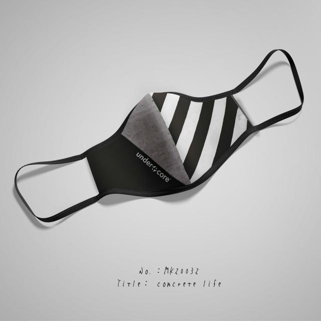 UNDERXCORE(アンダーコア)マスク/concrete life