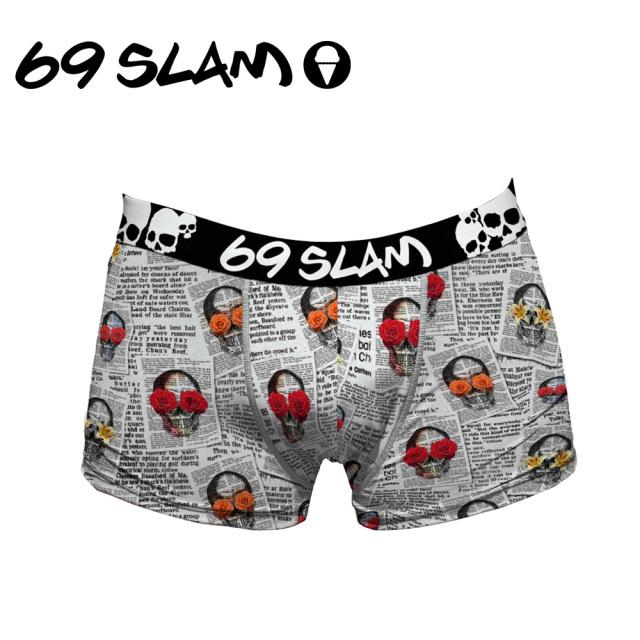 69SLAM(ロックスラム)/【ショート丈】 NEWSPAPER