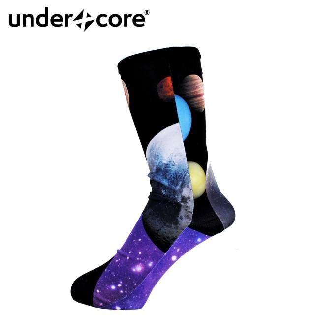 UNDERXCORE(アンダーコア)/【ソックス】Universe City