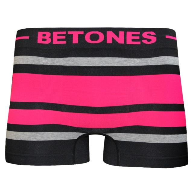 BETONES(ビトーンズ)/BREATH-BLACK(D PINK)