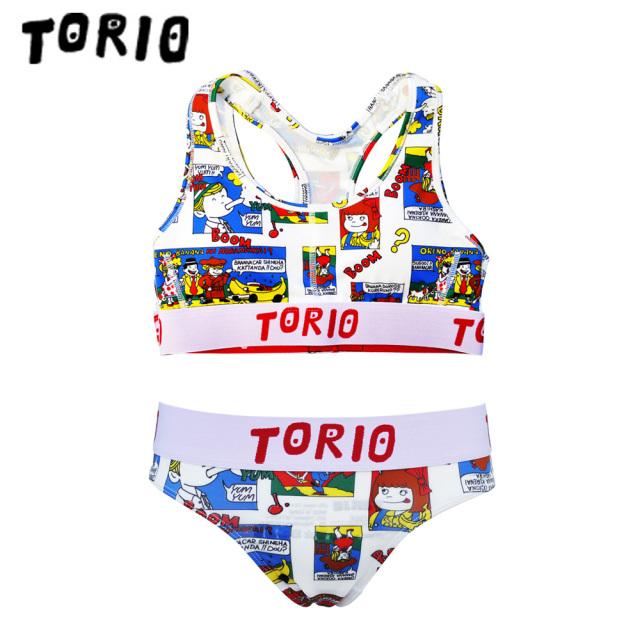 TORIO(トリオ)/LADY'Sブラジャー・パンツSET コミック(Tバック)