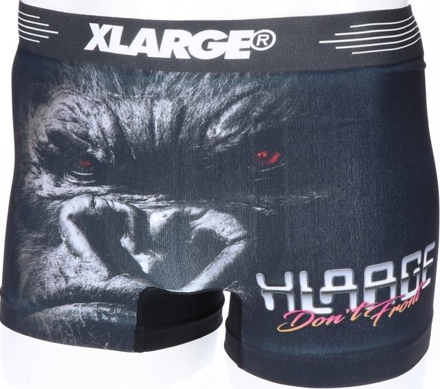 X-LARGE(エクストララージ)/リアル(BLACK)