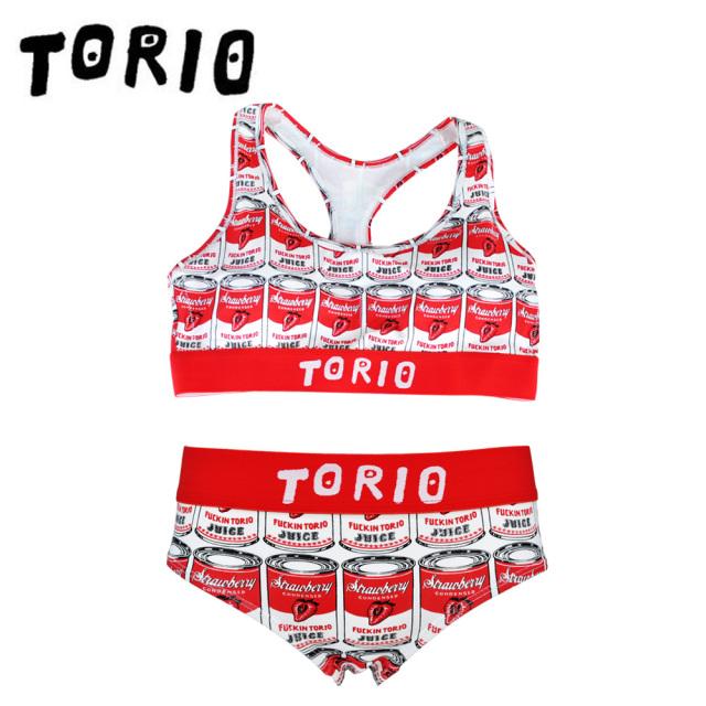 TORIO(トリオ)/LADY'Sブラジャー・パンツSET イチゴ缶