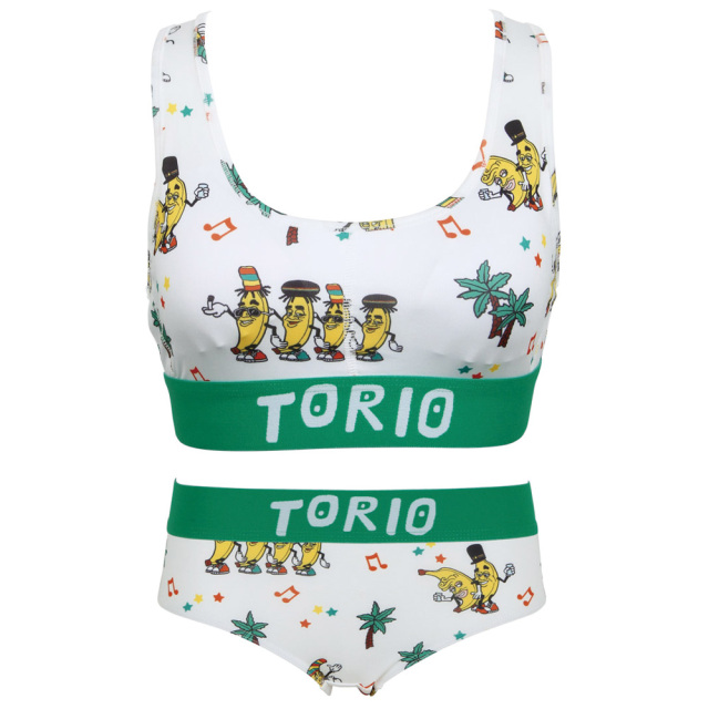 TORIO(トリオ)/LADY'Sブラジャー・パンツSET ジャマイカンバナナ