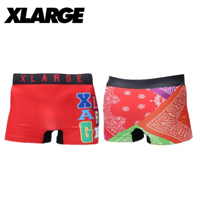 X-LARGE(エクストララージ)/成型バンダナ(レッド)