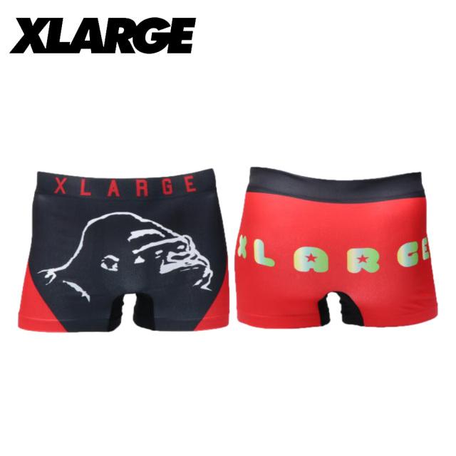 X-LARGE(エクストララージ)/成型センターロゴ (レッド)