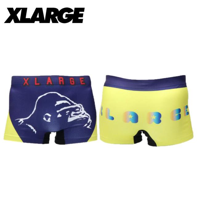 X-LARGE(エクストララージ)/成型センターロゴ (ブルー)
