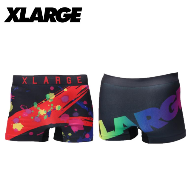 X-LARGE(エクストララージ)/成型プリント(ブラック)