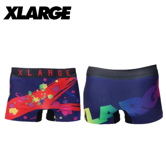 X-LARGE(エクストララージ)/成型プリント(ネイビー)