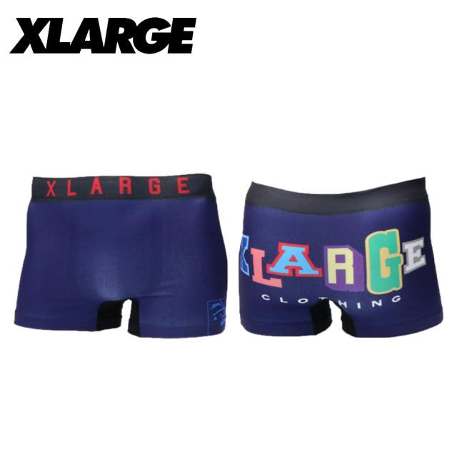 X-LARGE(エクストララージ)/成型シンプルロゴ(ネイビー)
