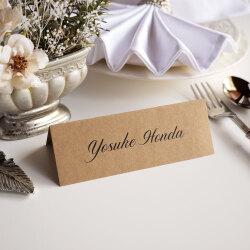 席札・Wedding Name Plate 【英語_DIP】
