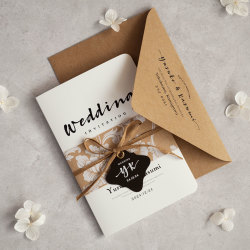 招待状セット Wedding Invitation 【design-CLA】