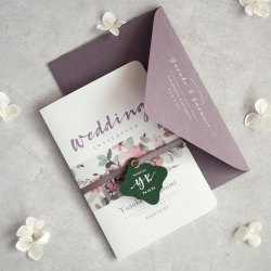 招待状セット Wedding Invitation 【design-WAT】