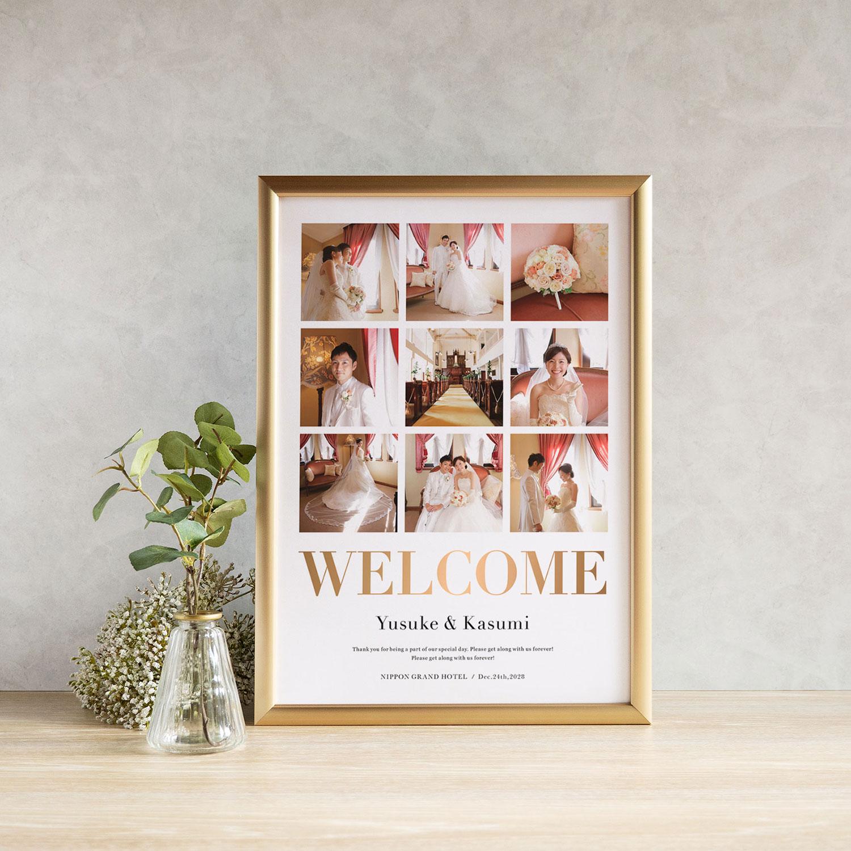 Welcome Photo Board ウェルカムフォトボード 【Anniversary】