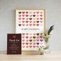 メッセージボード Wedding Message Board  【A2サイズ 約70名用】