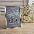 結婚指輪をおしゃれに飾る「リング掛けボード」 【ムーングレー】