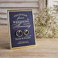 結婚指輪をおしゃれに飾る「リング掛けボード」 【ミッドナイトブルー】