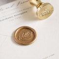 シーリングスタンプ Sealing Stamp 【design-DATE1】