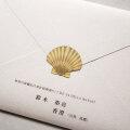 封かんシール 【shell】 30枚入り