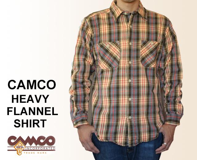 CAMCO カムコ ネルシャツ