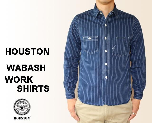 ヒューストン ウォバッシュ ワークシャツ