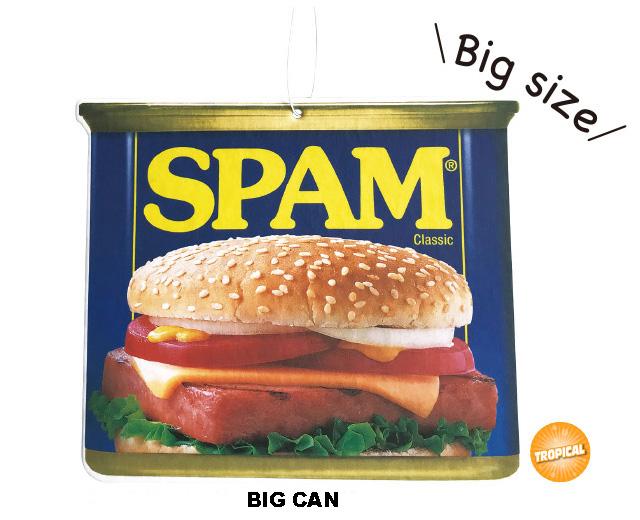 SPAM スパム BIGエアフレッシュナー