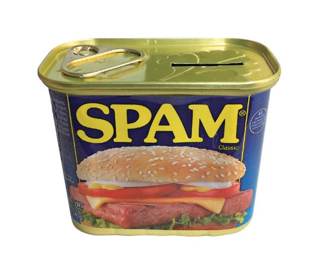 スパム SPAM 貯金箱