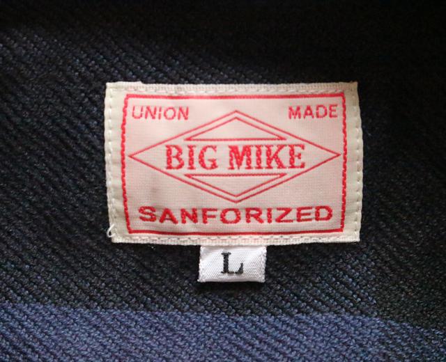 ビッグマイク ネルシャツ 2018