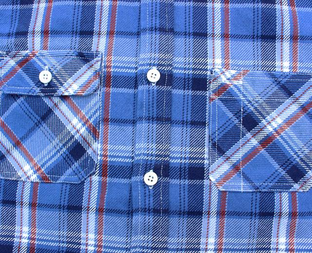 FIVE BROTHER ファイブブラザー EXヘビーネルシャツ