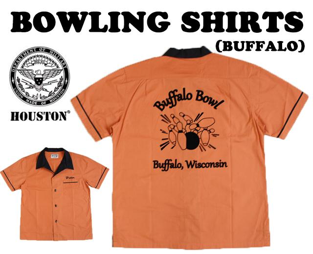 ヒューストン ボウリングシャツ