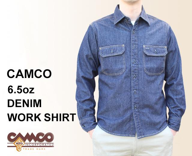 CAMCO カムコ デニム ワークシャツ