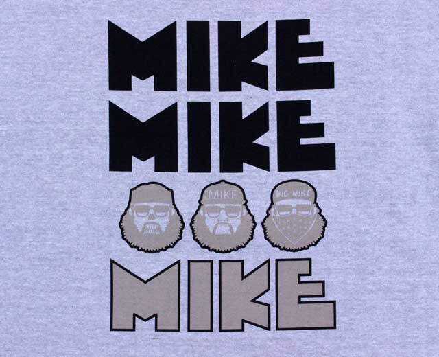 BIGMIKE ビッグマイク スウェット オジサン