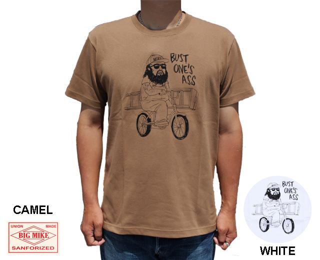 BIGMIKE ビッグマイク おじさん Tシャツ